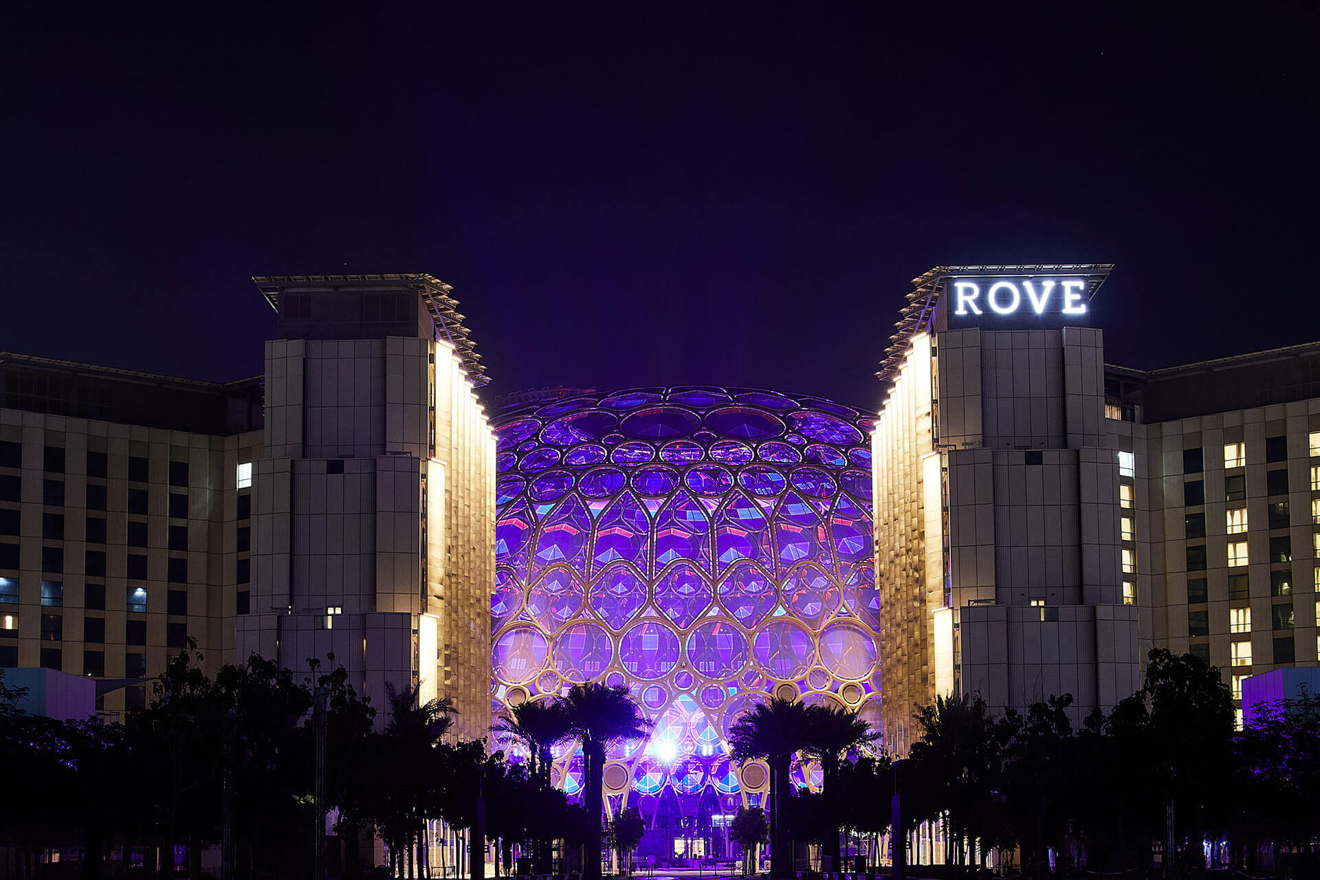 Rove Expo 2020, Exterior
