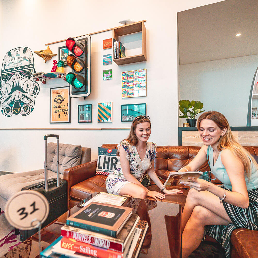 Co-working spaces at Rove Hotels